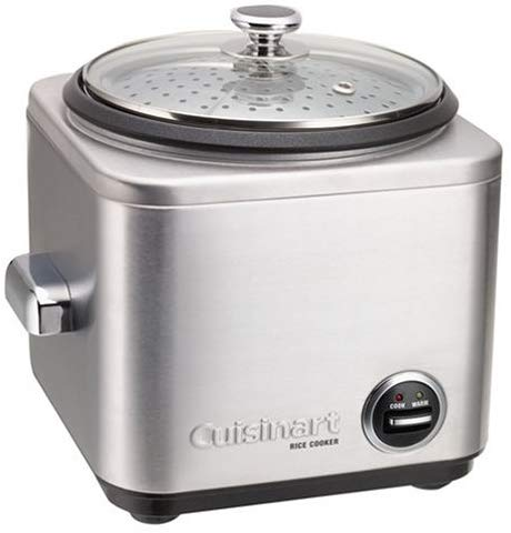 Cuisinart CRC-400P1 CRC-400 Rice Cooker, 4-Cup, Silver