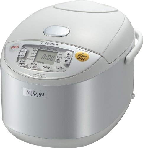 Zojirushi NS-YAC18 Umami Micom 10-Cup (Uncooked) Rice Cooker and Warmer