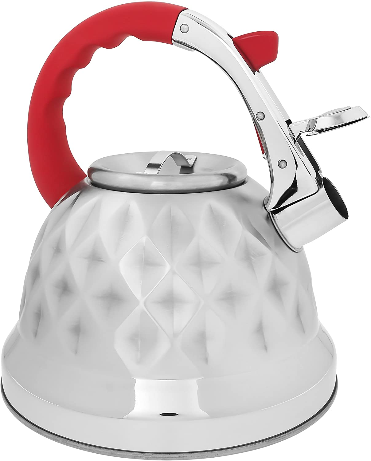 With a tea kettle for gas stove, you don't have to worry about your safety anytime you're preparing a cup of tea. Place the kettle on the gas and make your best beverage in a short period.
