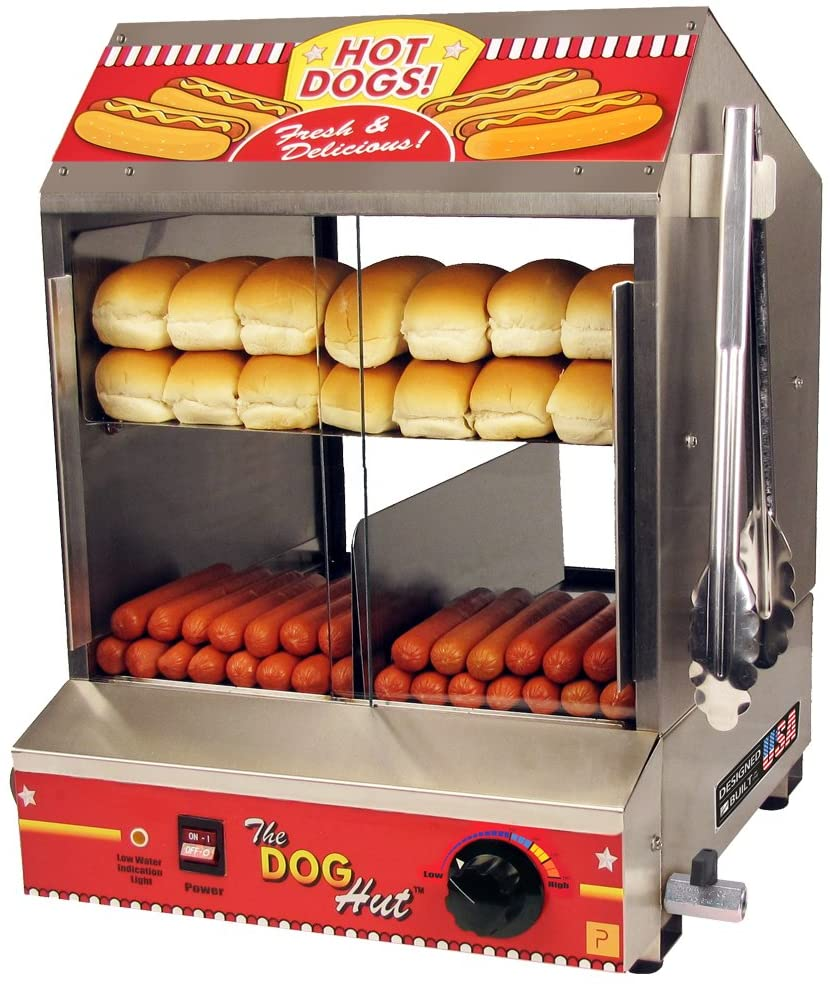 Best Hotdog Steamer and Bun Warmer