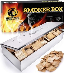 Smoker Box for Wood Chip