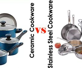 Stainless Steel vs. Ceramic cookware: Which is Best For You?