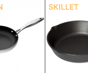 Difference between Skillet and Frying Pan