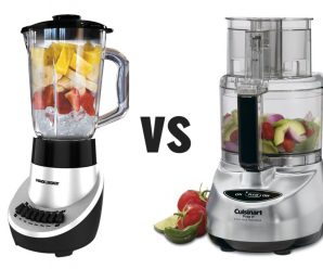 What Is The Difference Between A Food Processor And Blender?