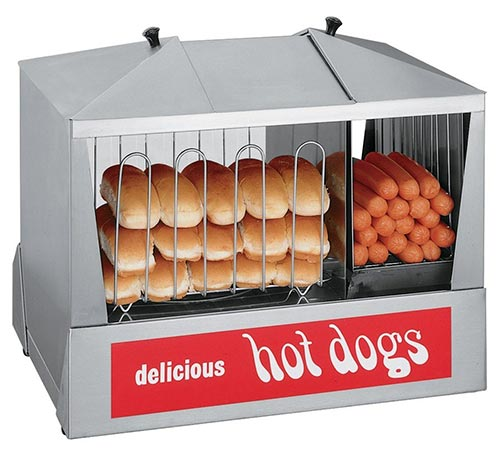 Best hot dog steamer and bun warmer