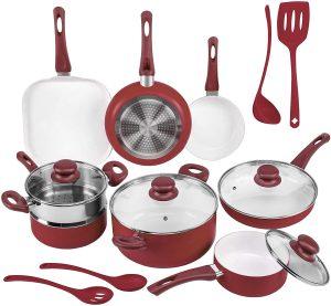 Ivation Ceramic Cookware