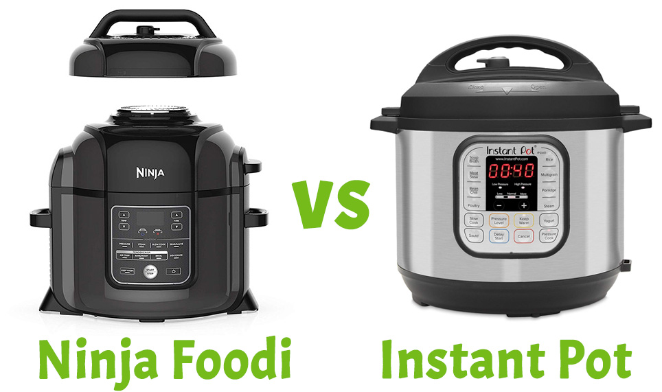 Instant Pot vs Ninja Foodi