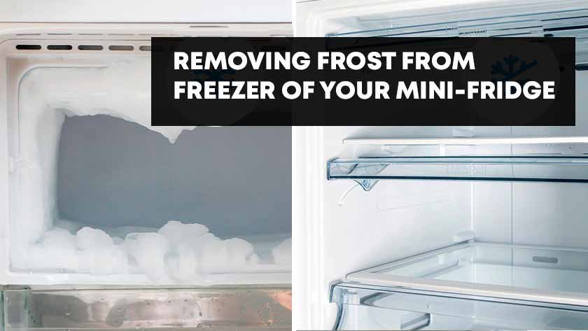 How to Defrost a Mini Fridge