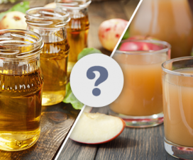 What is the difference between apple juice and apple cider
