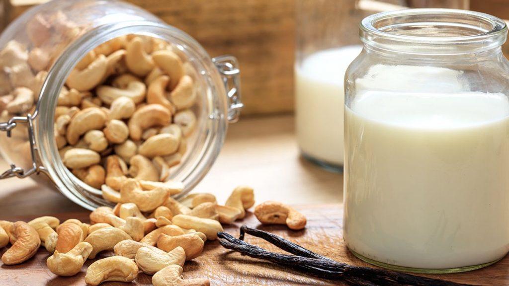 Cashew Milk as substitute for coconut milk