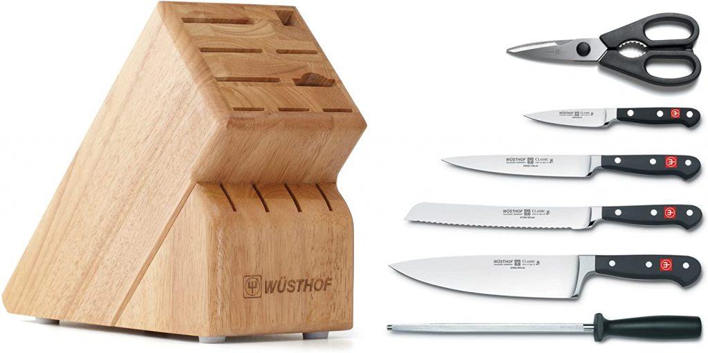 Wusthof Classic Seven Piece Knife Block