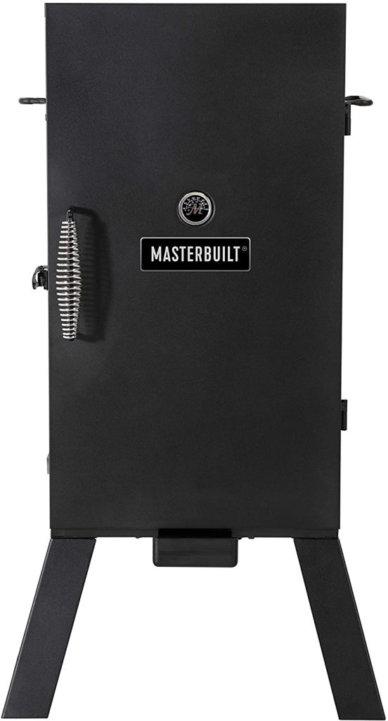 Masterbuilt Analog Electric Smoker with 3 Smoking Racks, 30 inch, Black
