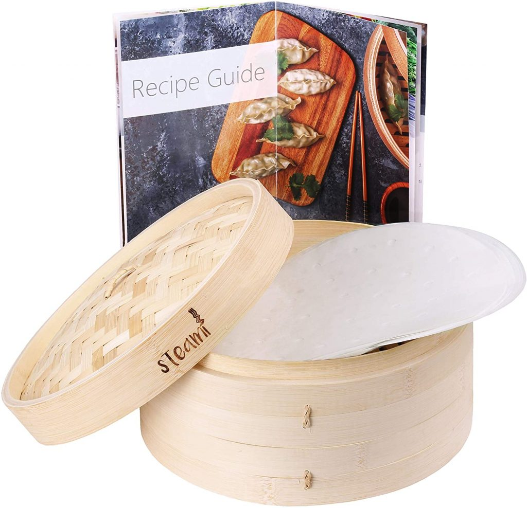 What is a bamboo steamer and how does it work?