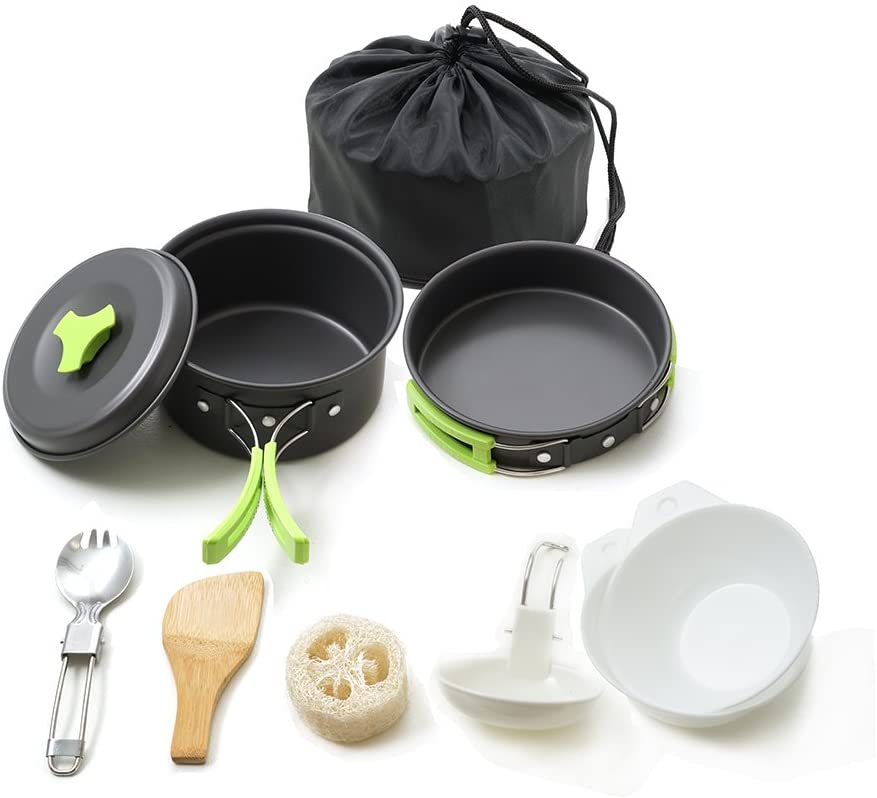 Best Camping cookware for a family