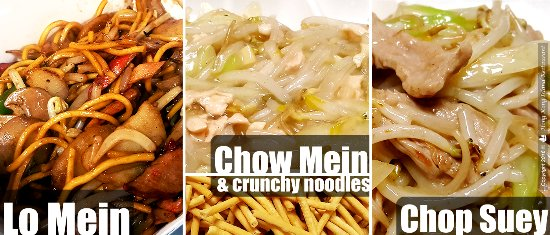 What is the difference between Chow Mein and Lo Mein?