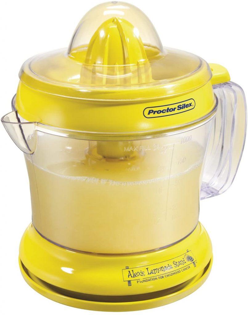 Proctor Silex Alex's Lemonade Stand Citrus Juicer Machine and Squeezer