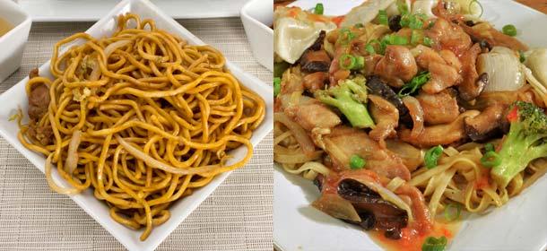 Lo Mein vs. Chow Mein vs. Chop Suey