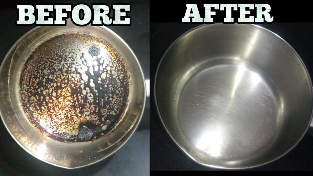 How to use lemon to remove rust and dirt from cookware
