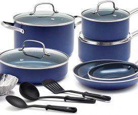 Blue Diamond Cookware Set Review
