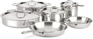 All-Clad D3 Cookware Set Review
