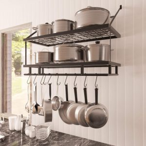 Rack to hang pots and pans review