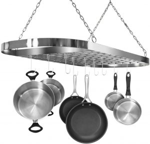 best pots and pans rack for your kitchen