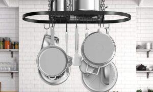 best pots and pans rack