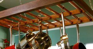 Ceiling Pot And Pan Rack