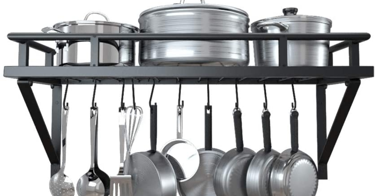 Pots and Pans Rack- This Is How to Choose the Best