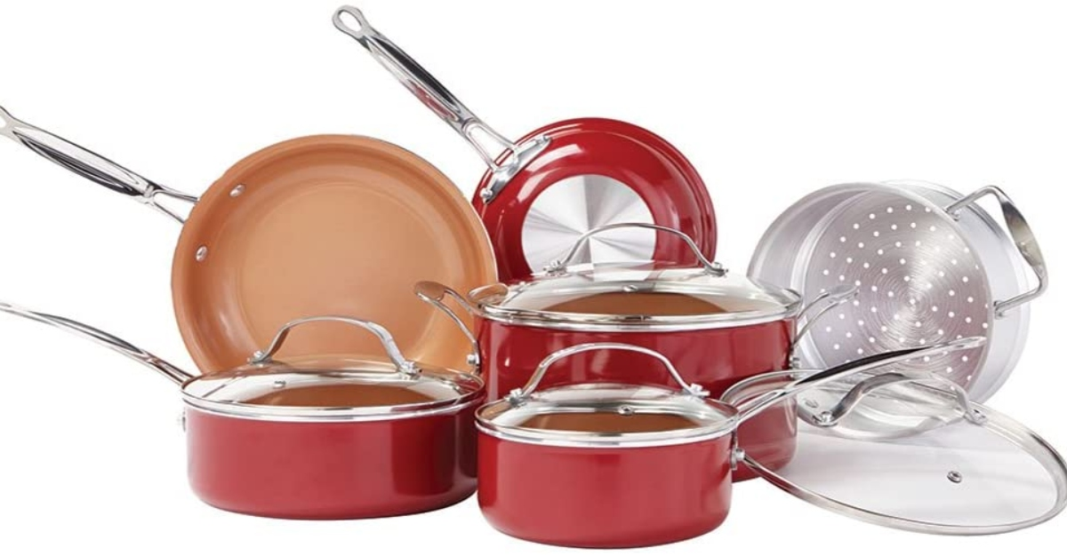 Red copper cookware reviews