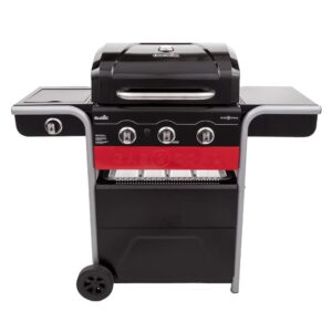 Gas and Charcoal Grill Combo